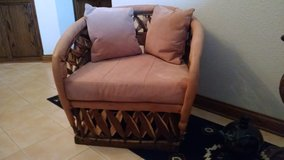 Equipale Tanned Pigskin Barrel Chair in Joliet, Illinois
