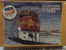 1000 piece puzzle Santa Fe R.R. El Capitan in Alamogordo, New Mexico