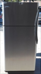 18 CU. FT. FRIGIDAIRE REFRIGERATOR (ICE MAKER)- STAINLESS STEEL in Camp Pendleton, California