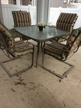 Outdoor Patio dining set in Fort Sam Houston, Texas