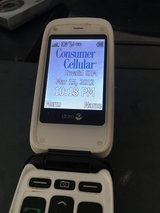 Doro 626 consumer cellular Flip phone in Travis AFB, California