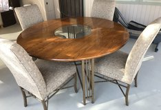 Beautiful solid wood table in Yucca Valley, California