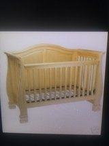 Baby crib , dresser ,changing pad, mattress, crib bedding in Chicago, Illinois