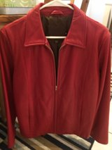 Coach Leather Jacket (Woman's size Medium) in Schaumburg, Illinois