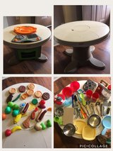 Kids table and play cooking in Oceanside, California