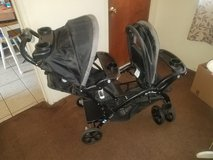 Babytrend sit and stand double stroller in Los Angeles, California