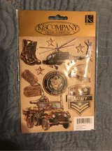 K&Company Army Embellishment Stickers in Kingwood, Texas