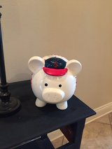Cute jumbo baseball piggy bank in Leesville, Louisiana
