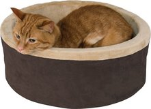 K&H Pet Products Thermo-Kitty Cat Bed, Mocha in Aurora, Illinois