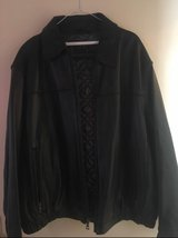 Andrew Marc leather coat in Ramstein, Germany