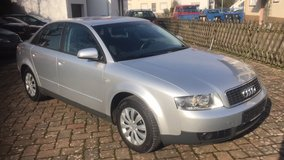 Audi A4 Sedan FWD AUTOMATIC A/C Alloys Summer & Winter Tires New Service New TÜV in Ramstein, Germany
