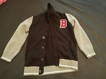 boys letter sweater size 4t in Fort Knox, Kentucky
