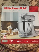 KitchenAid Artisan Series, Chrome silver, Stand Mixer 5-Quart in Baytown, Texas