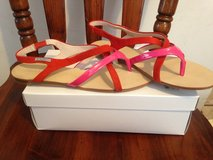 Womens size 9.5 sandals and slip ons in Camp Lejeune, North Carolina
