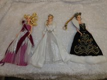 3 holiday Barbie dolls in Lakenheath, UK