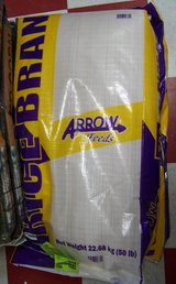 Arrow Feeds Rice Bran in Fort Polk, Louisiana