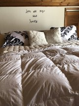 King bed set in Fort Drum, New York