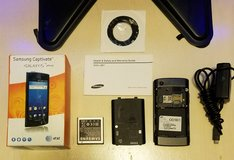 Samsung Galaxy S Captivate SGH-I897 - 16GB - Black (Unlocked) Smartphone (B1) in Barstow, California