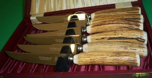 Kirk's Sheffield Indian Stag Cutlery in Plainfield, Illinois