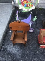 Old children's  chair in Beaufort, South Carolina