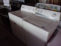 Amana Washer and Kenmore Dryer Set in Fort Riley, Kansas