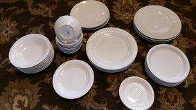 White Dishes Plates Bowls Set in Algonquin, Illinois