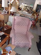 Rose Colored Recliner in Fort Riley, Kansas