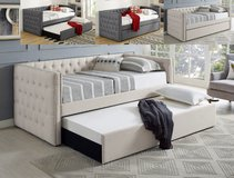 BRAND NEW! LUXURIOUS QUALITY TUFTED DAYBED WITH TRUNDLE PULLOUT! in Camp Pendleton, California