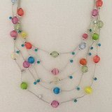 Multi-Colored Necklace and Earring Set in Algonquin, Illinois