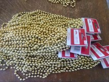 18 foot Strands of gold beads in Alamogordo, New Mexico