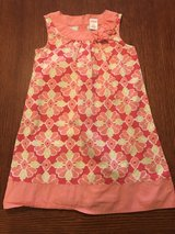 Girls size 7 Gymboree floral pink sleeveless dress in Byron, Georgia
