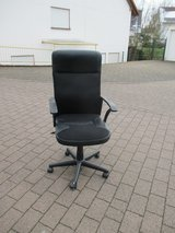 black office chair in Ramstein, Germany
