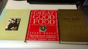 Three cookbooks in Warner Robins, Georgia