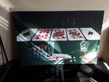 Poker Framed Picture in Schaumburg, Illinois