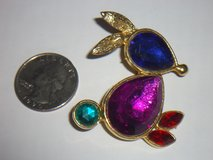 rhinestone bunny pin in Plainfield, Illinois