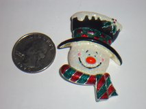 snowman pin in Aurora, Illinois