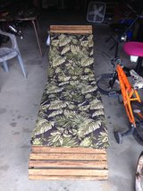 Vintage Chaise Lounger with pad in Dover, Tennessee