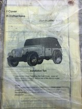 Jeep wrangler best top cover beige brown color in Okinawa, Japan