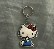 Hello Kitty Silicone Cartoon Key Chain in Fort Benning, Georgia