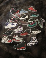 Sneaker Sticker Lot 20pcs in Columbus, Georgia