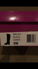 Rampage Imelda Riding Boots Size 8M in Vacaville, California