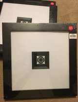 4- Aaron Brothers 12x12 W 3x3 Black Art Craft Frames in Vacaville, California