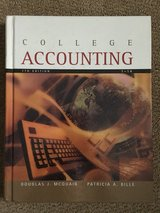 College Accounting Chapter 1-14 7th Edition in Vacaville, California