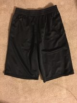 Used Starter pocket Shorts : Silver and Black Mesh Shorts Size XL (14-16) and Grey Short Size L ... in Vacaville, California