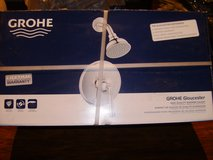 GROHE Gloucester Chrome 1-Handle WaterSense Shower Faucet with Single Function in Clarksville, Tennessee
