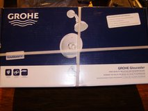 GROHE Gloucester Chrome 1-Handle WaterSense Bathtub and Shower Faucet Trim with Single Function ... in Fort Campbell, Kentucky