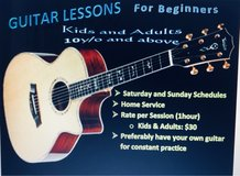 Guitar Lessons for Beginners in Okinawa, Japan