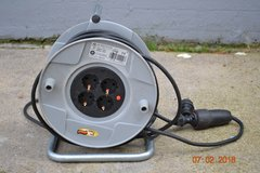 """220V Electric Cord Reel and 100"""" Cord in Ramstein, Germany"""