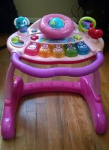 Vtech Sit To Stand Activity Learning Walker PINK in Lawton, Oklahoma