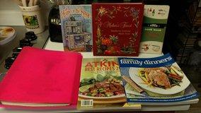 6 cookbooks lot in Perry, Georgia